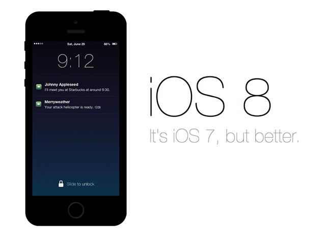 iOS 8 – слухи и догадки