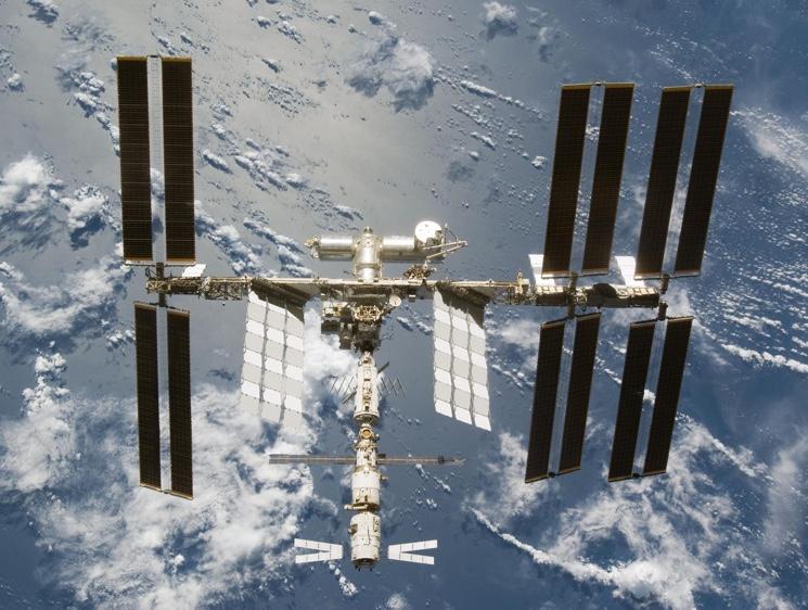 Международная Космическая Станция - фото МКС