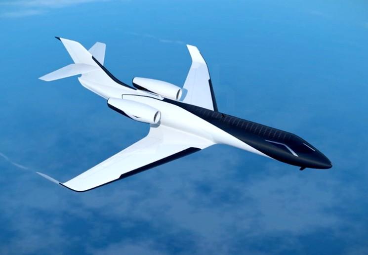 IXION Windowless Jet Concept