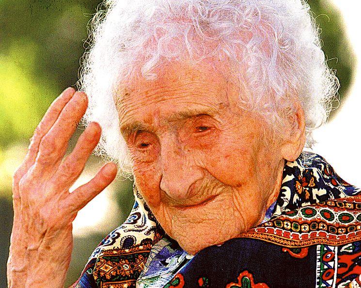 Жанна Кальман - французская долгожительница - 122 года