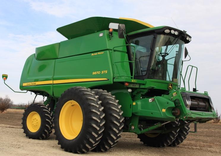 Зерноуборочный комбайн John Deere 9870