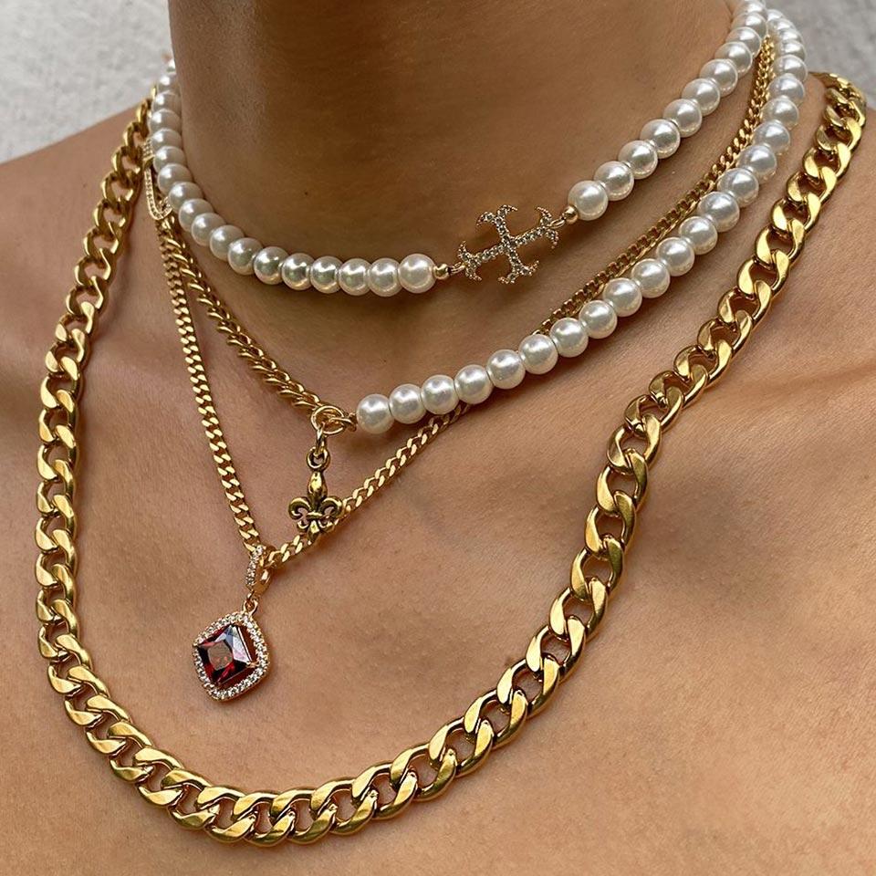 Золотые и серебряные цепочки — украшения для стильных и уверенных мужчин