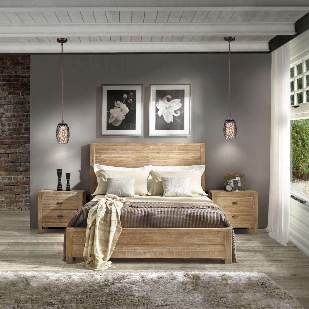 Как ухаживать за деревянной кроватью?