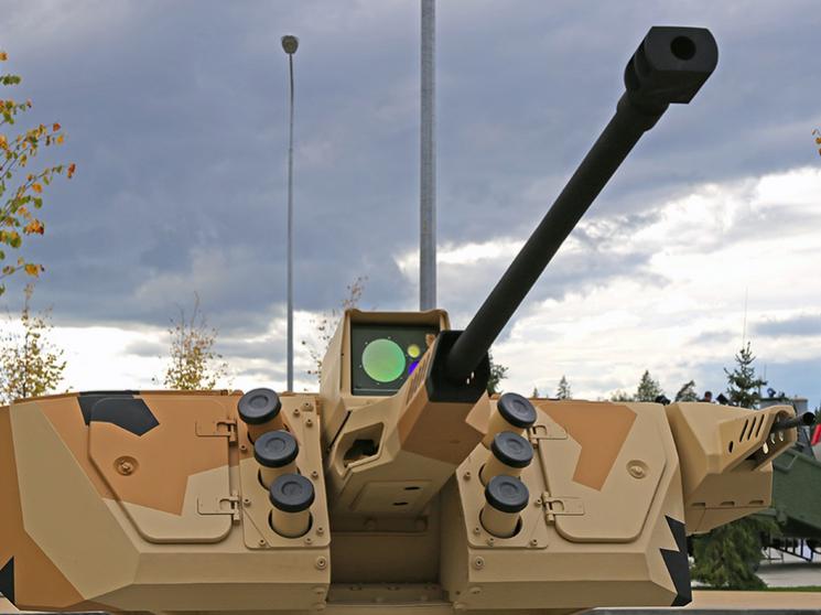 дистанционно-управляемый боевой модуль для Курганец-25