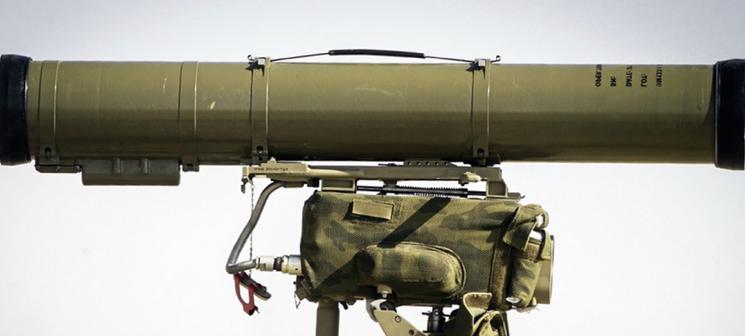 противотанковый ракетный копмлекс Корнет