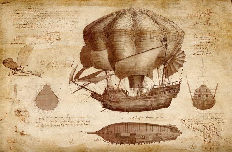 Изобретения Леонардо да Винчи в воздухоплавании