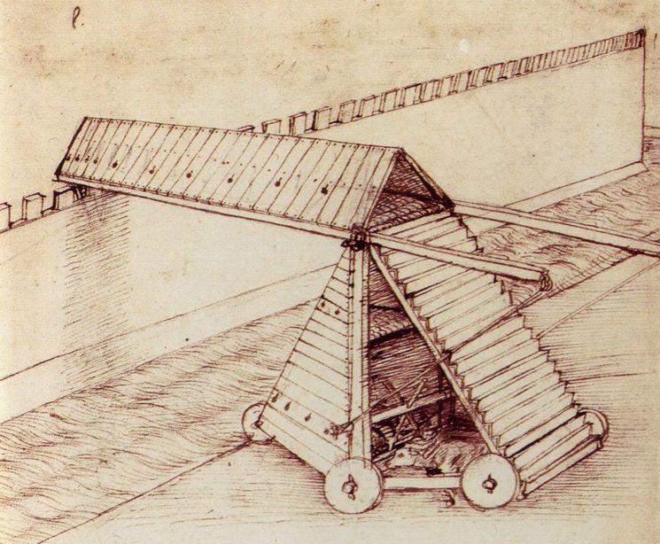 Уникальные изобретения Леонардо да Винчи