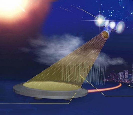 Искусственное освещение Земли с орбиты
