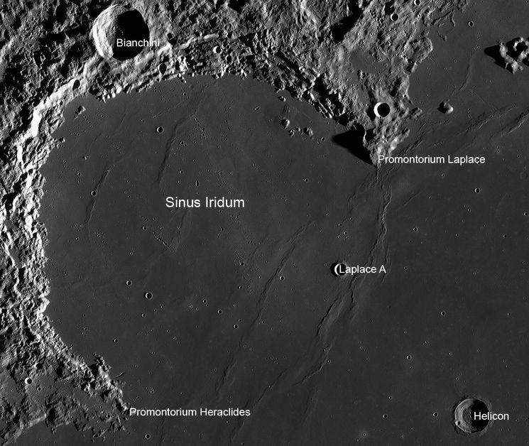 Фото лунной поверхности