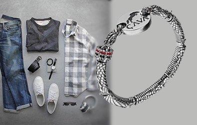 Современный выбор мужских браслетов: что в моде?