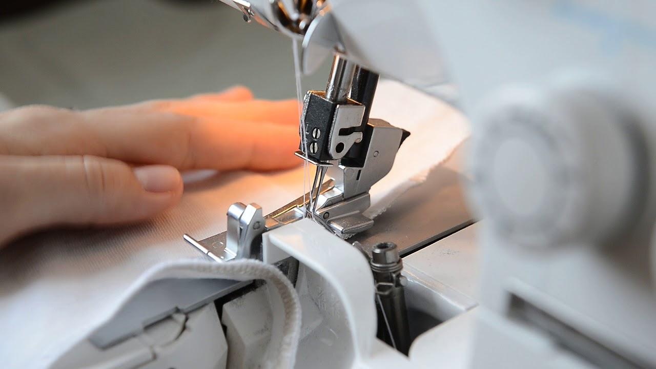 Оверлок – незаменимое дополнение к швейной машине