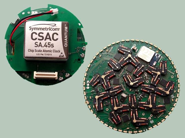 Чип и микросхема квантовых часов