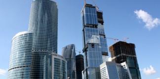 Москва Сити - московский бизнес центр