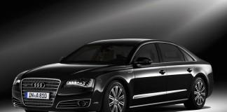 Новый бронированный Audi A8
