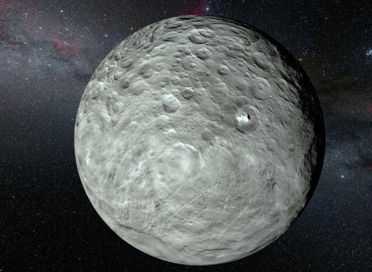 Первый открытый астероид Церера