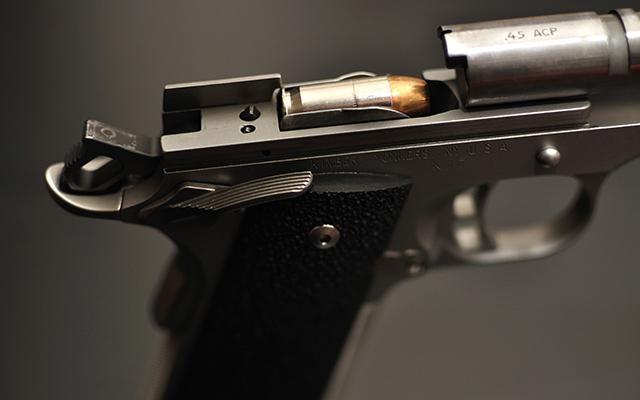 Пистолет 45 калибр