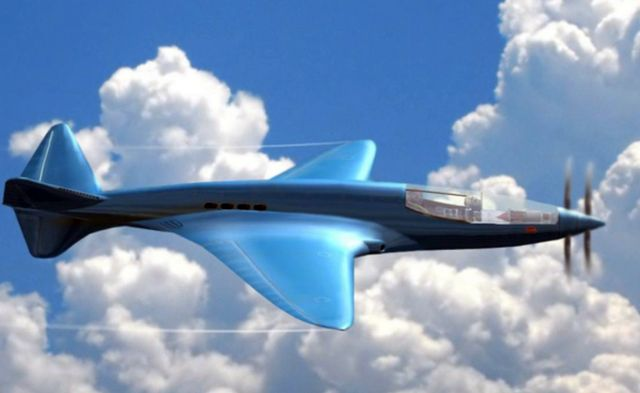 Экспериментальный самолёт Bugatti 100P