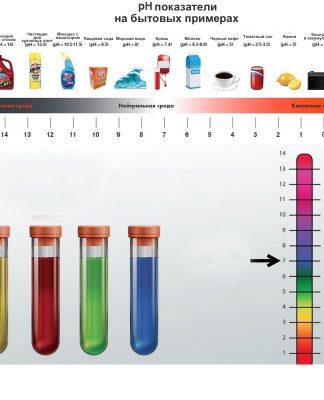 Показатель pH на бытовых примерах