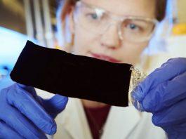 Получение самого черного материала на Земле