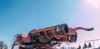 Пожарный танк Big Wind с установкой газоводяного тушения