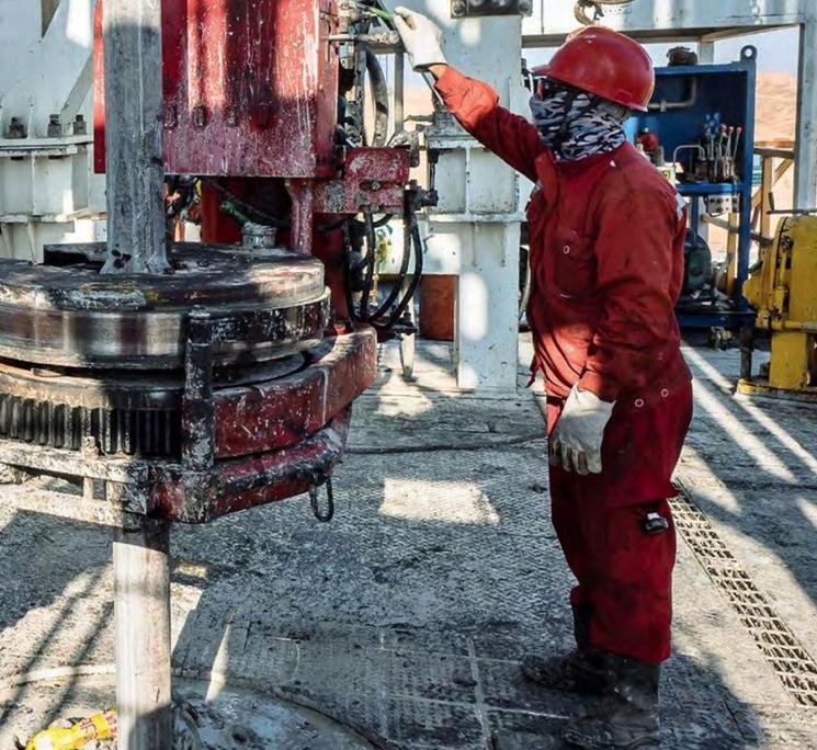 Профессия бурильщик нефти