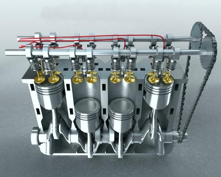 Работа двигателя двигателя внутренного сгорания - устройство и принцип действия