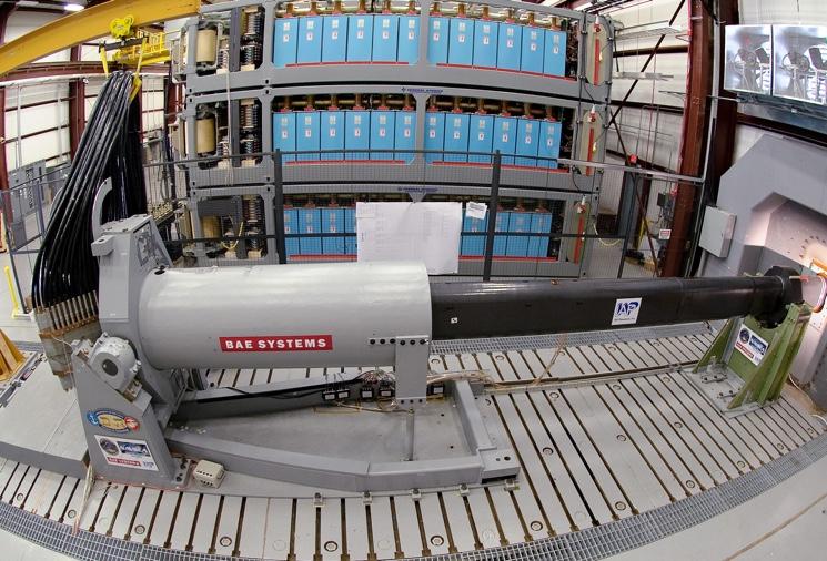 Опытный образец RailGun от BAE Systems