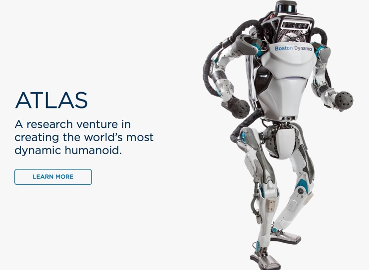 Робот Атлас от компании Boston Dynamics