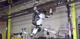 Робот Атлас — видео новых способностей от компании Boston Dynamics