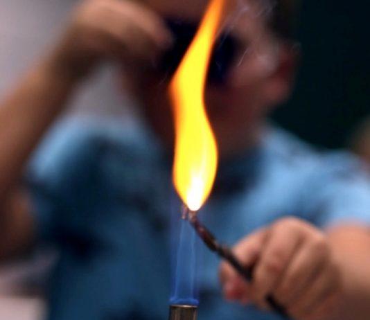 Горение смеси топлива с водой