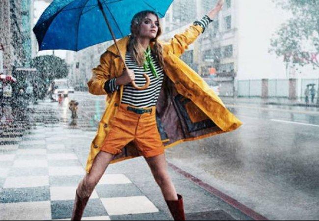 Яркие, красивые и недорогие плащи-дождевики