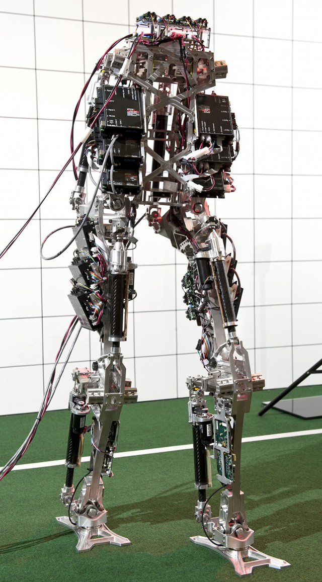Ходовая часть робота Saffir