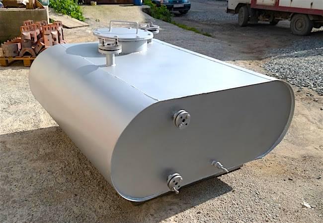 Подземные резервуары для нефтепродуктов и ГСМ