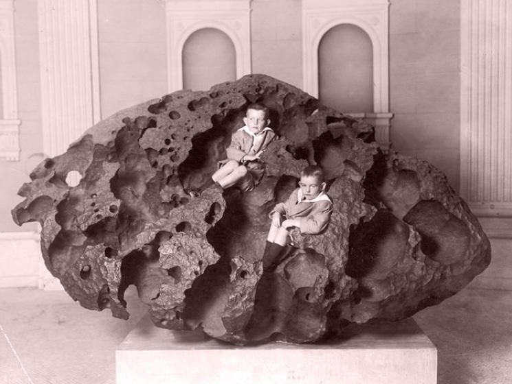 Самый крупный метеорит Уилламетт найденный в Cеверной америке