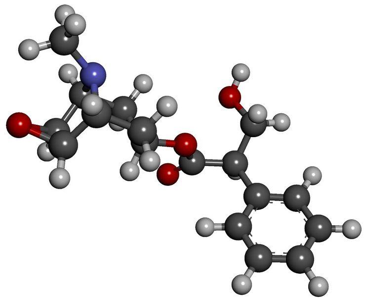 Структура Scopolaminum - эликсира истины