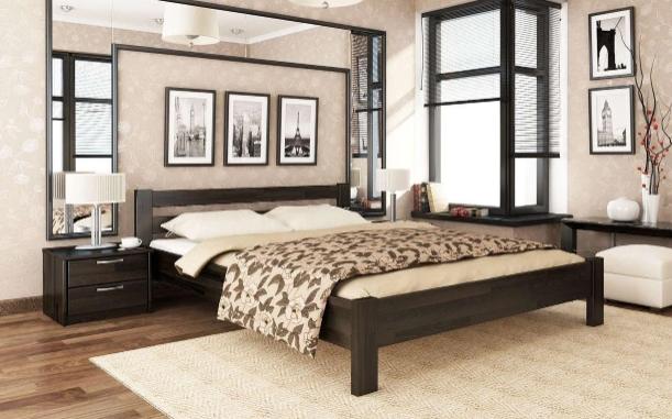 Деревянная кровать – практичность и красота