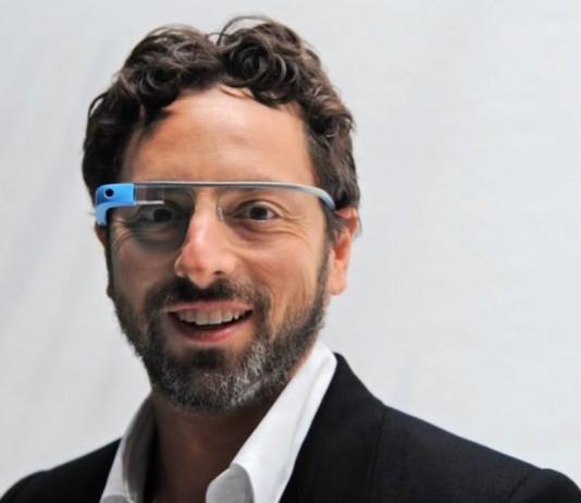 Сергей Брин тестирование Google Glass