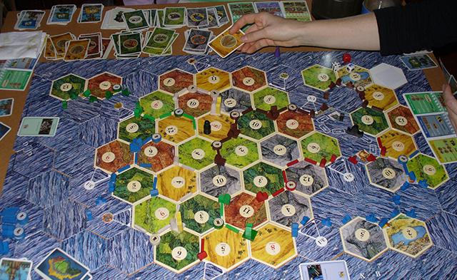 настольная игра settlers of catan