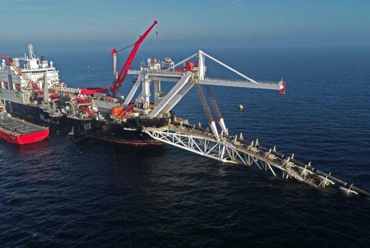 Северный поток - 2: газопровод и его архитектура