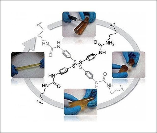 принцип действия полимера