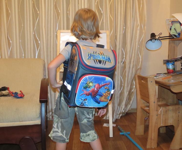 Школьный рюкзак первоклассника