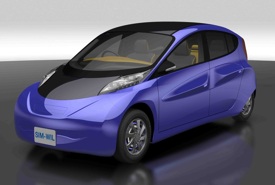 SIM-Drive WIL электромобиль с большим запасом хода