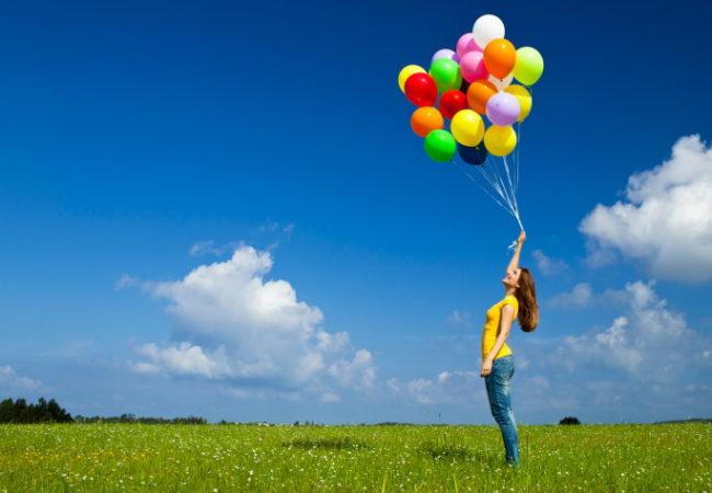 Как отметить день рождения, девичник и свадьбу? Покупка воздушных шаров