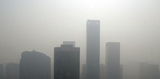 Загрязнение воздуха в Китае