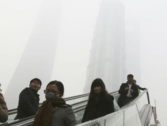 Смог в китайской столице