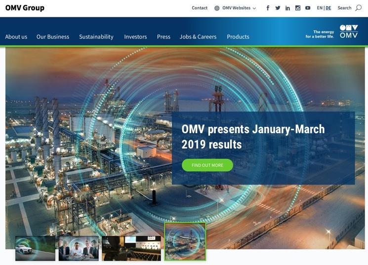 Cотрудничество CCCH с компанией OMV