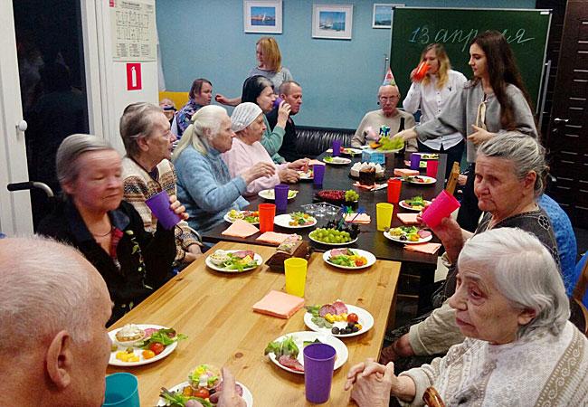 Дом для престарелых. Опыт и профессионализм
