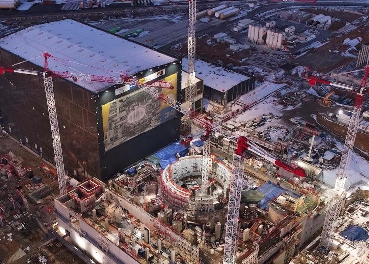 Строительство реактора итэр