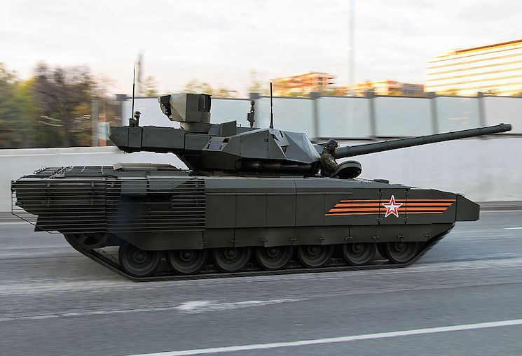 Новый танк Армата Т-14 — видео и характеристики
