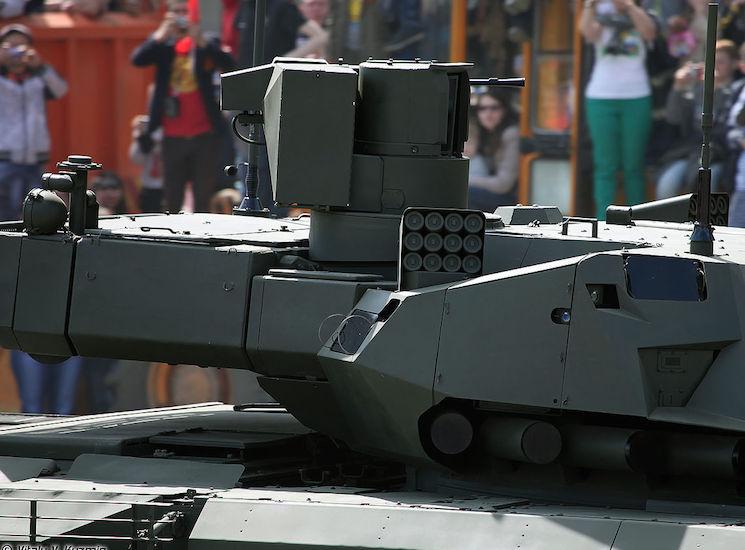Афганит - активная защита танка Армата